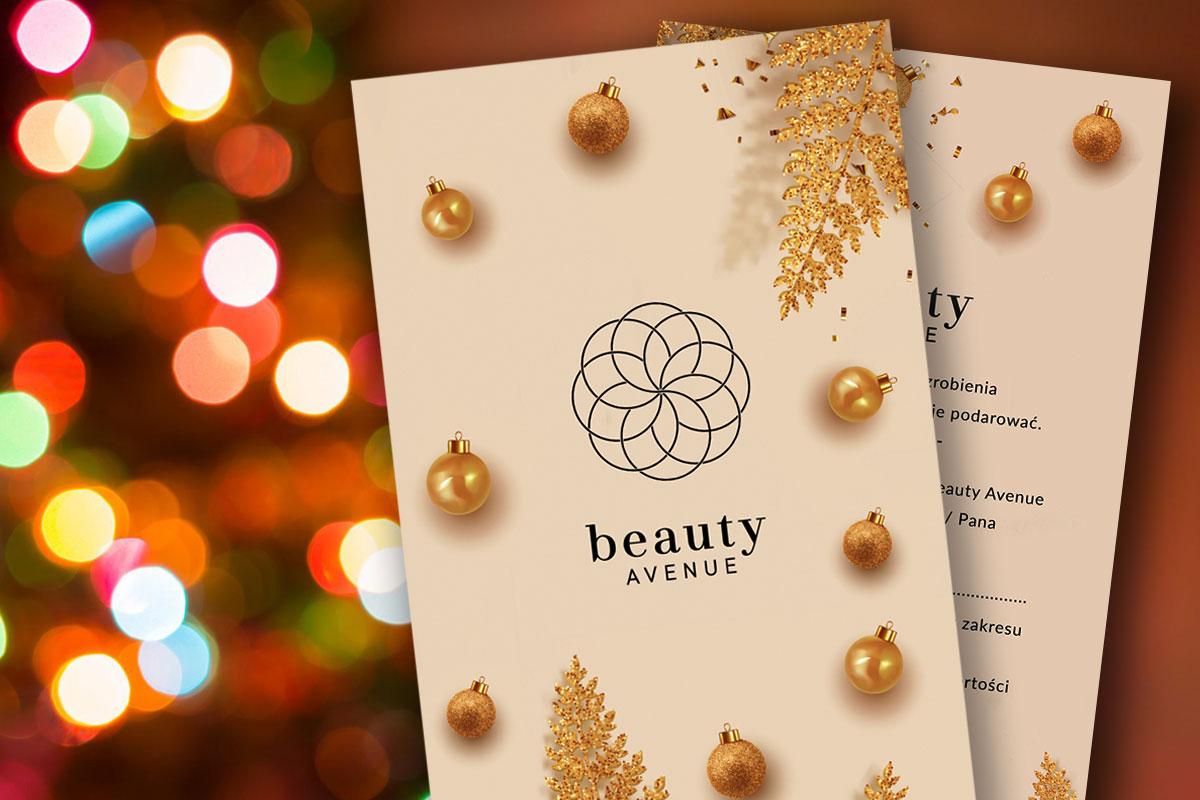 Beauty Avenue voucher na święta z dokładką